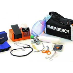 Emergency complete with empty oxygen cylinderCB08000 A