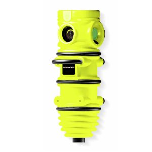 Polyethylene oxygen tank holder yellowCB09025 O