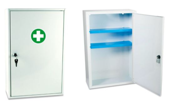 Customized First Aid Kits in 214-Sofia Metal Wall CabinetCP483