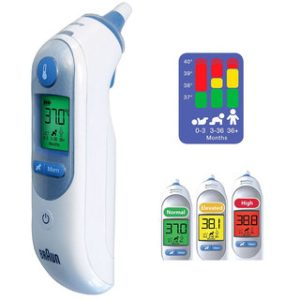 Braun ThermoScan Infa Red Ear Tympanic Thermometer IRT6520DE/099