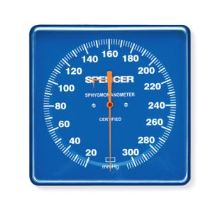 Viso Kompak -Large Dial Aneroid Sphygmomanometer for Rail/wall attchment-SpencerDG01500 A