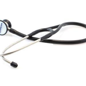 Black cardiological stethoscopeDG02602