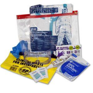 EbolaType Virus Disposable Health Protection KitDP/552