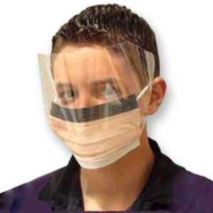 KC300 Fluidshield Procedure Masks/Visors - Box Of 25DP/642