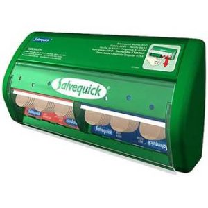 Salvequick Plaster Dispenser with Textile and Plastic PlastersDR/416