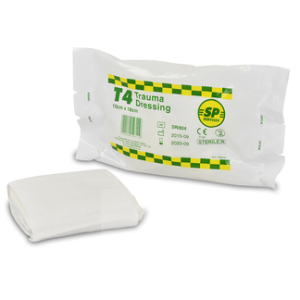 T4 Trauma Dressing Pad With Elasticated BandageDR/824