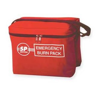 SP Burn Kit In Red Carry Bag - Kitted CompleteDU/044