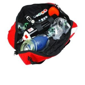 Emergency resus kit D cyl - economy - (Without Cylinder)F00042