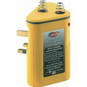 Plug in rechargeable lantern batteryF06091