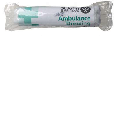 No.2 Ambulance Dressing 15x20cm sterileF07910