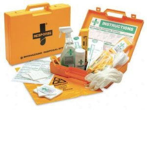Body Fluid and Sharps Disposal Spill KitF14946