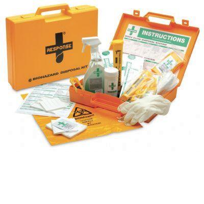 Body Fluid and Sharps Disposal Spill KitF14946