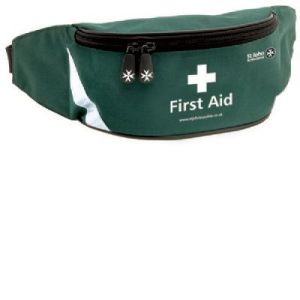 Outdoor First Aid Kit/ Bum Bag with customized contents .F30224CP