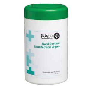 SJA hard surface wipes pk100F78045