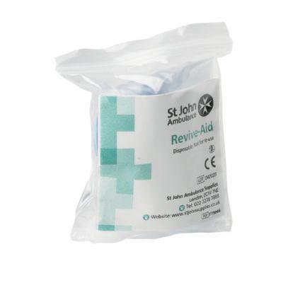 Revive aid resuscitation face shieldF79066