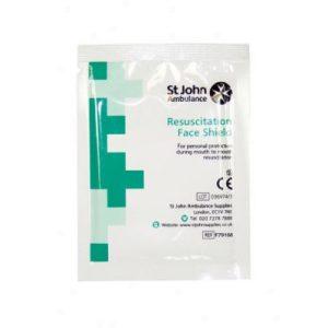 SJA Resuscitation Face ShieldF79168