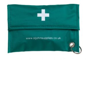 Empty personal protection pouch with key ringF79214