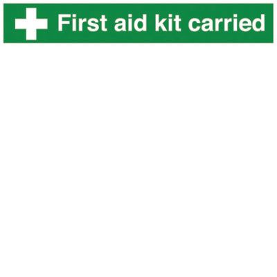 First aid kit carried signF90199
