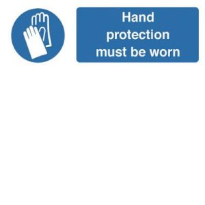 Hand Protection SignF90420