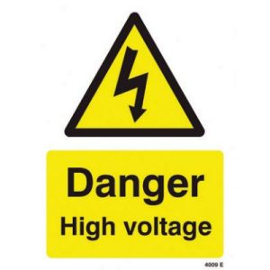 Danger High Voltage SignF90426