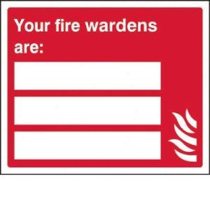 Fire Warden SignF90499