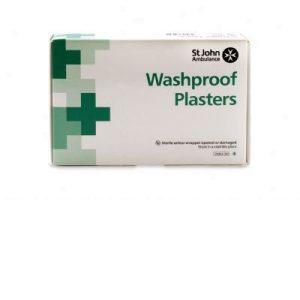 Washproof plasters