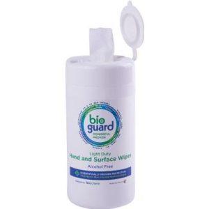 Bioguard light duty wipes pk100HW100