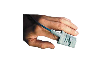 Reusable SpO2 Sensor - Adult FingerM1191BL