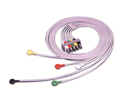 5-lead ECG Lead Set with Snaps (IEC)M1635A
