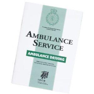 Ambulance driving bookletP90141