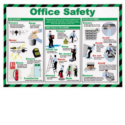 Office Safety PosterP95104