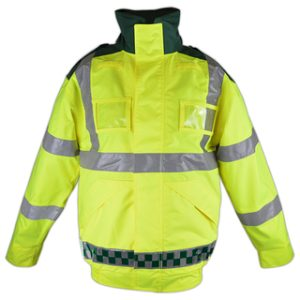 HI-Vis Bomber Jacket - Green & Yellow