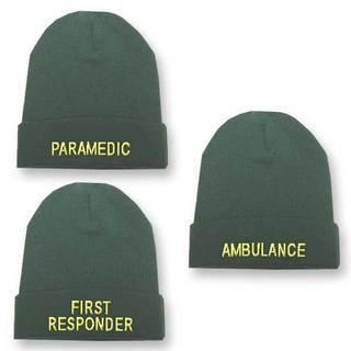 Green Beanie Woolly Hat - ParamedicPC/681P