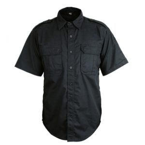Bastion Tactical Short Sleeve Shirt - Black
