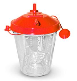 800 ml disposable canister for 10 pcs plus a small adapterSC73039