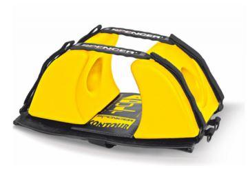 Spencer Contour Head Immobiliser yellowSH00201 A - F75468