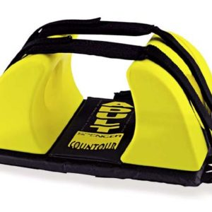 Spencer Contour yellow / Black universal head immobilizerSH00201