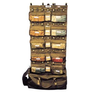 1/4 POMS Complete Organiser System With Carry BagSM/083