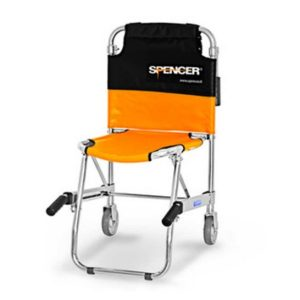 Spencer 420 Blue - Transport chair with two wheelsST00420 A