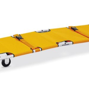 Foldable emergency stretcher with wheelsST30200 A
