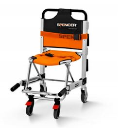 Spencer 455 - Transport chair with four wheelsST30455A