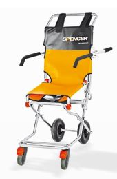 Spencer 407-B Compact evacuation chair with four wheels and armrestsST40407