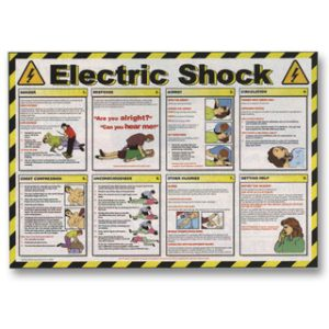 First Aid Poster - Electric ShockTR/934