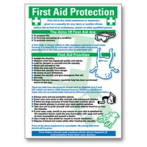 First Aid Poster - First Aid ProtectionTR/957