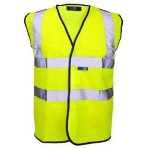 Supertouch hi-vis waistcoat-SmallU02104 - S