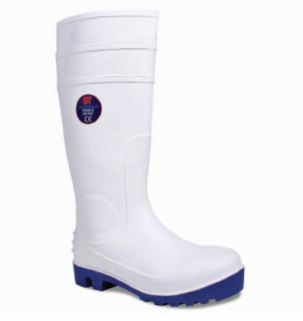 PVC Rubber Wellington non-safety WhiteZZ/00159