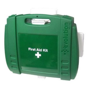Hotel First Aid Kit in Large Green Evolution BoxZZ/8742