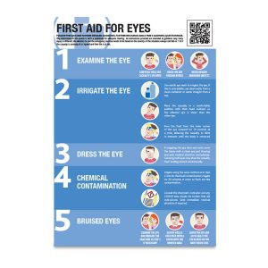 4531_First Aid for Eyes Guidance Poster