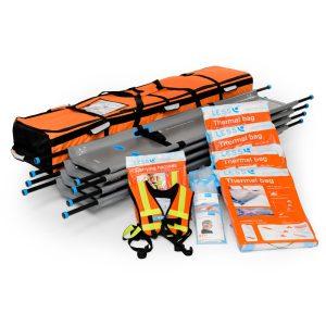 LESS® Emergency Stretcher Rolling Kit